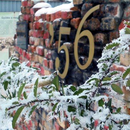 Téli fotók az emlékhelyről